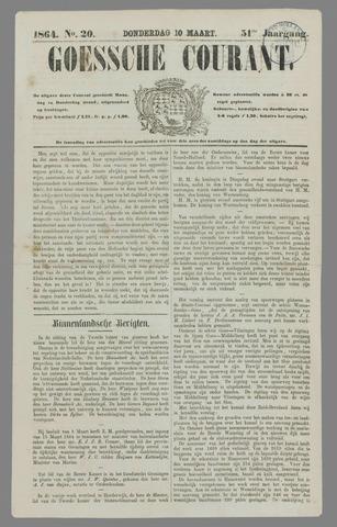 Goessche Courant 1864-03-10