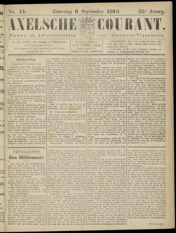Axelsche Courant 1919-09-06