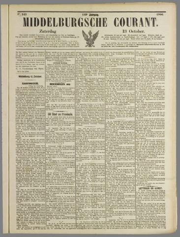 Middelburgsche Courant 1906-10-13
