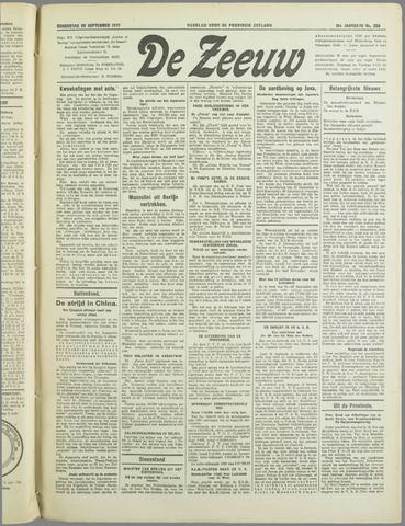De Zeeuw. Christelijk-historisch nieuwsblad voor Zeeland 1937-09-30