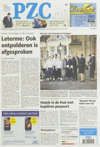 Provinciale Zeeuwse Courant 2009-08-27