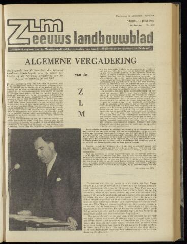 Zeeuwsch landbouwblad ... ZLM land- en tuinbouwblad 1962-06-01
