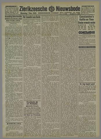 Zierikzeesche Nieuwsbode 1932-11-07