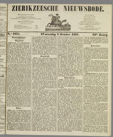 Zierikzeesche Nieuwsbode 1861-10-09