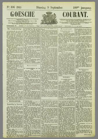 Goessche Courant 1913-09-09