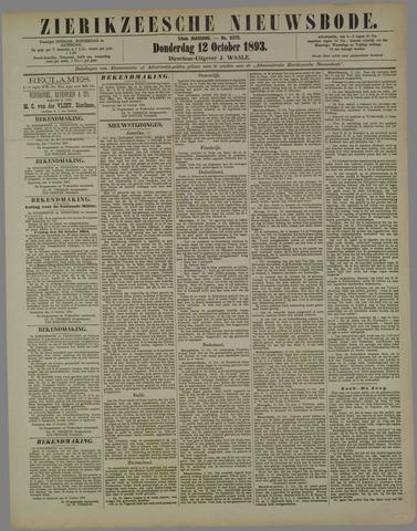 Zierikzeesche Nieuwsbode 1893-10-12