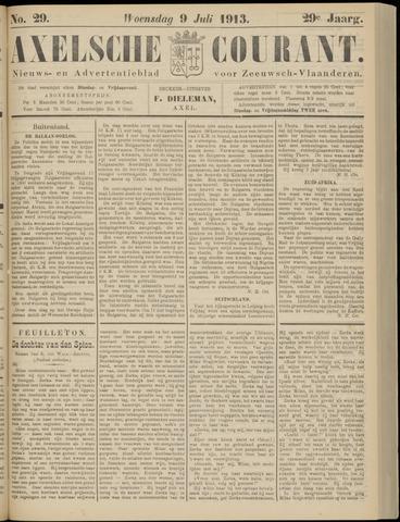Axelsche Courant 1913-07-09