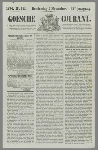 Goessche Courant 1874-11-05