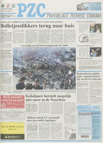 Provinciale Zeeuwse Courant 2002-09-21