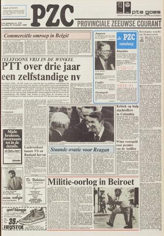 Provinciale Zeeuwse Courant 1985-11-23