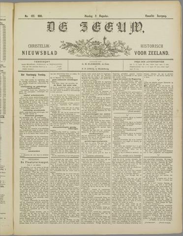 De Zeeuw. Christelijk-historisch nieuwsblad voor Zeeland 1898-08-09