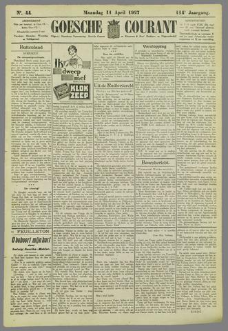 Goessche Courant 1927-04-11