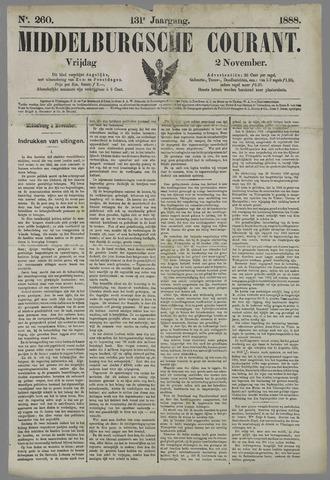 Middelburgsche Courant 1888-11-02