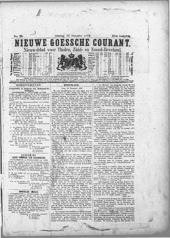 Nieuwe Goessche Courant 1876-12-19