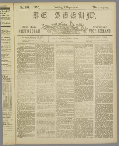 De Zeeuw. Christelijk-historisch nieuwsblad voor Zeeland 1906-09-07