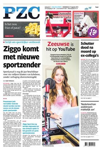 Provinciale Zeeuwse Courant 2015-08-27
