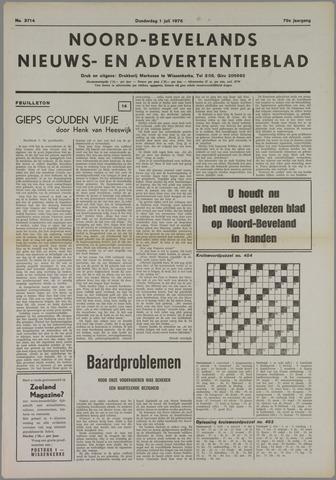 Noord-Bevelands Nieuws- en advertentieblad 1976-07-04