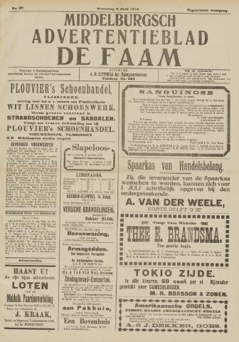 de Faam en de Faam/de Vlissinger 1915-06-09