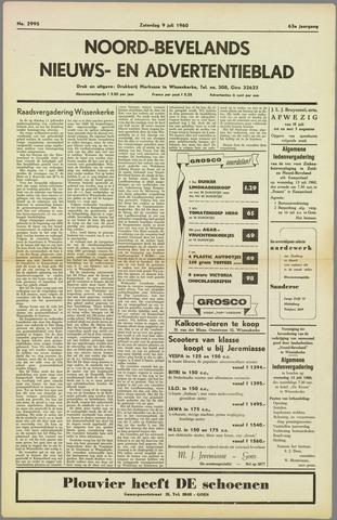 Noord-Bevelands Nieuws- en advertentieblad 1960-07-09