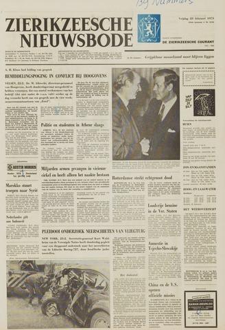 Zierikzeesche Nieuwsbode 1973-02-23
