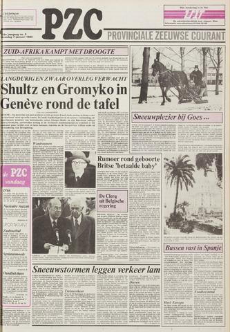 Provinciale Zeeuwse Courant 1985-01-07