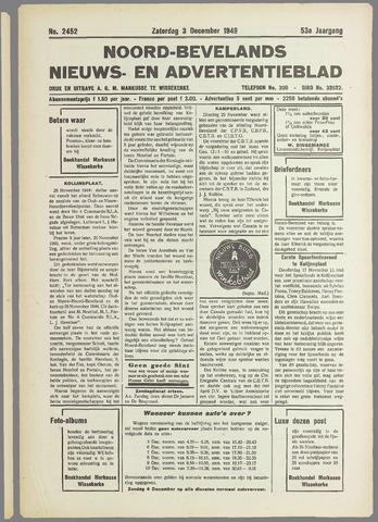 Noord-Bevelands Nieuws- en advertentieblad 1949-12-03