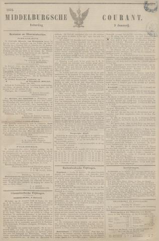 Middelburgsche Courant 1852-01-03