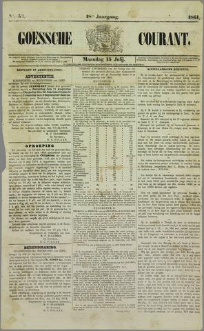 Goessche Courant 1861-07-15