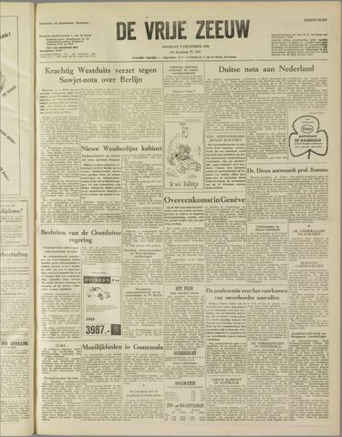 de Vrije Zeeuw 1958-12-09