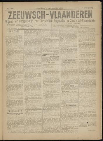 Luctor et Emergo. Antirevolutionair nieuws- en advertentieblad voor Zeeland / Zeeuwsch-Vlaanderen. Orgaan ter verspreiding van de christelijke beginselen in Zeeuwsch-Vlaanderen 1918-12-21