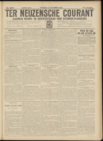 Ter Neuzensche Courant. Algemeen Nieuws- en Advertentieblad voor Zeeuwsch-Vlaanderen / Neuzensche Courant ... (idem) / (Algemeen) nieuws en advertentieblad voor Zeeuwsch-Vlaanderen 1937-10-08