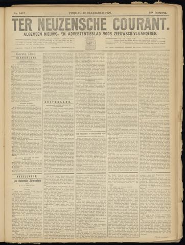 Ter Neuzensche Courant. Algemeen Nieuws- en Advertentieblad voor Zeeuwsch-Vlaanderen / Neuzensche Courant ... (idem) / (Algemeen) nieuws en advertentieblad voor Zeeuwsch-Vlaanderen 1929-12-20