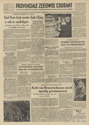 Provinciale Zeeuwse Courant 1954-05-12
