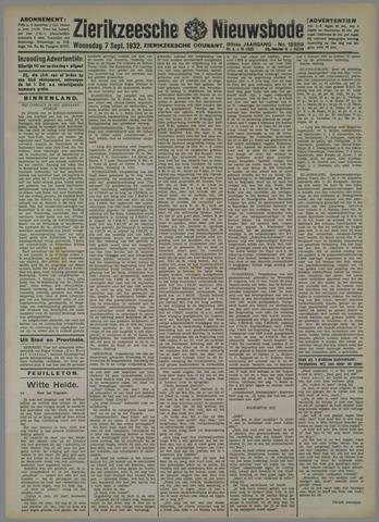 Zierikzeesche Nieuwsbode 1932-09-07
