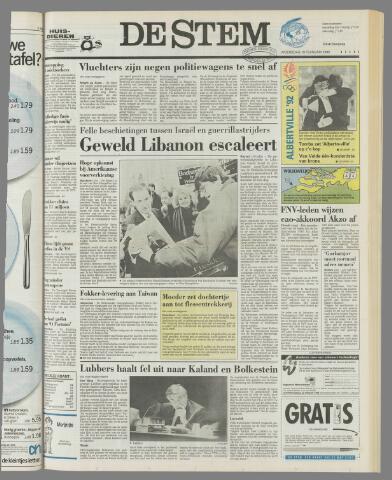 de Stem 1992-02-19