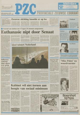 Provinciale Zeeuwse Courant 1993-12-01