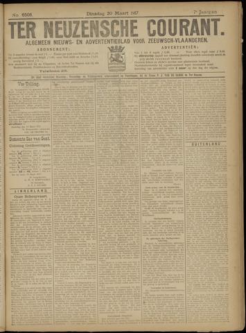 Ter Neuzensche Courant. Algemeen Nieuws- en Advertentieblad voor Zeeuwsch-Vlaanderen / Neuzensche Courant ... (idem) / (Algemeen) nieuws en advertentieblad voor Zeeuwsch-Vlaanderen 1917-03-20