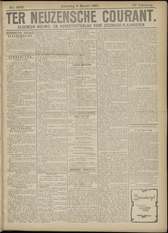 Ter Neuzensche Courant. Algemeen Nieuws- en Advertentieblad voor Zeeuwsch-Vlaanderen / Neuzensche Courant ... (idem) / (Algemeen) nieuws en advertentieblad voor Zeeuwsch-Vlaanderen 1920-03-06