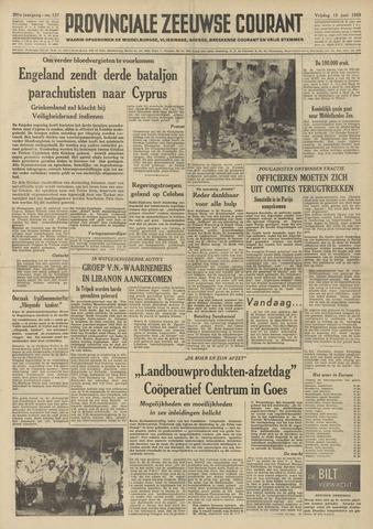 Provinciale Zeeuwse Courant 1958-06-13