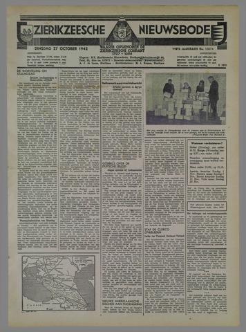 Zierikzeesche Nieuwsbode 1942-10-27