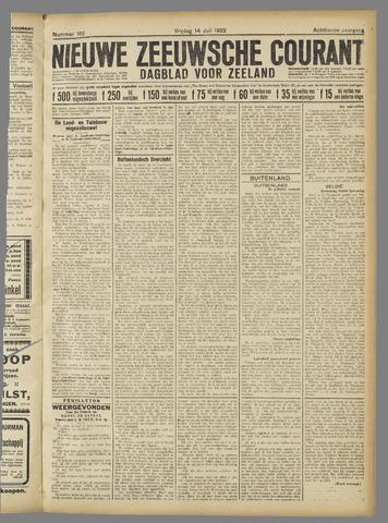 Nieuwe Zeeuwsche Courant 1922-07-14