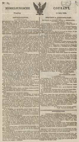 Middelburgsche Courant 1829-07-14