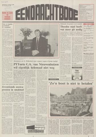 Eendrachtbode (1945-heden)/Mededeelingenblad voor het eiland Tholen (1944/45) 1989-08-03