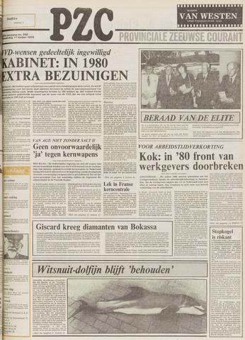 Provinciale Zeeuwse Courant 1979-10-11