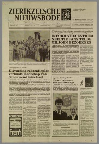 Zierikzeesche Nieuwsbode 1984-07-05