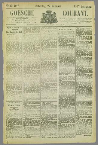 Goessche Courant 1917-01-27