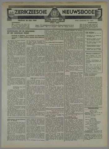 Zierikzeesche Nieuwsbode 1941-07-12