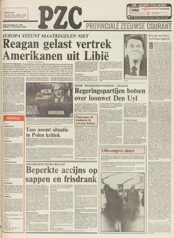 Provinciale Zeeuwse Courant 1981-12-11