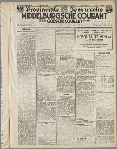 Middelburgsche Courant 1936-07-07