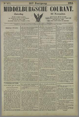 Middelburgsche Courant 1884-11-22